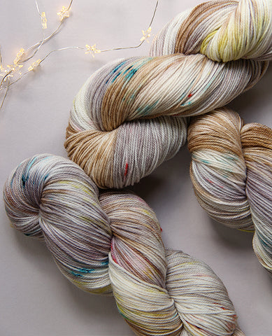 Hand-Dyed Yarn Skein: Mothwing
