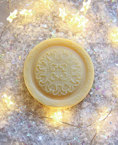 Knitter's Lotion Bar: Peppermint Cream