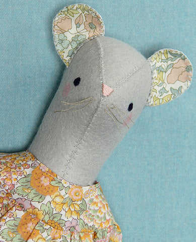 Miss Phyllis Mouse Softie Sewing Pattern
