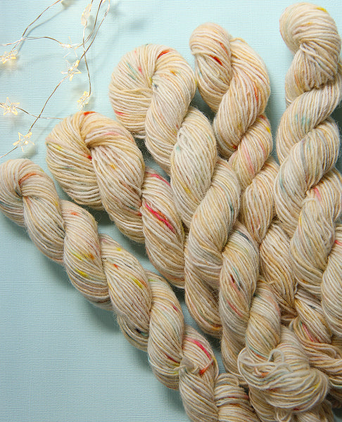 Hand-Dyed Mini Yarn Skein: Primary School