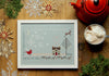 Love and Joy Cross Stitch Sampler Kit