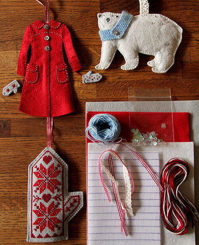 Snow Day Ornament Set Kit
