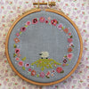 Spring Ring Cross Stitch Pattern