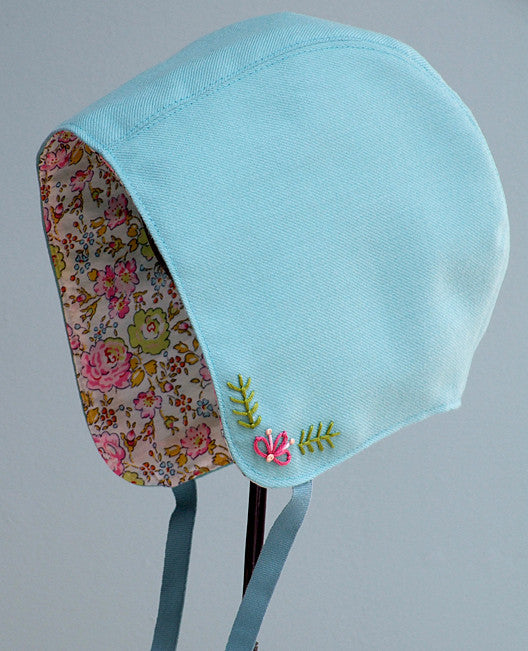 Storybook Woods Baby Bonnet Sewing Pattern Posie Patterns And Enchanting Free Baby Bonnet Sewing Pattern