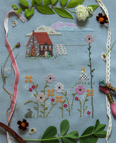 Summer Storm Cross Stitch Sampler Kit