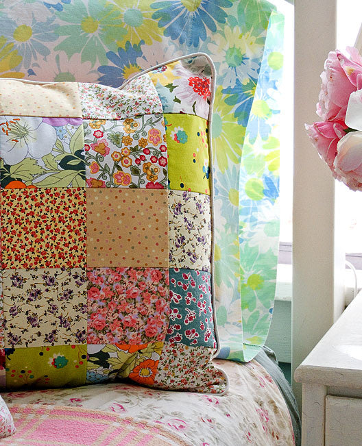 Summerhouse Pillows Sewing Pattern Posie Patterns And Kits To Extraordinary Pillow Sewing Patterns