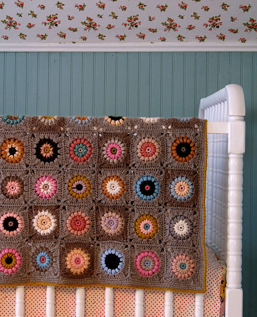 Sunshine Day Afghan Crochet Pattern Posie Patterns And Kits To