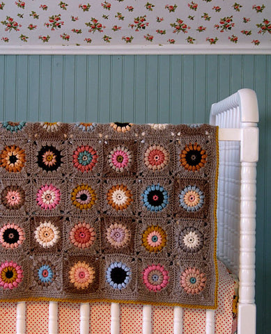 Sunshine Day Afghan Crochet Pattern