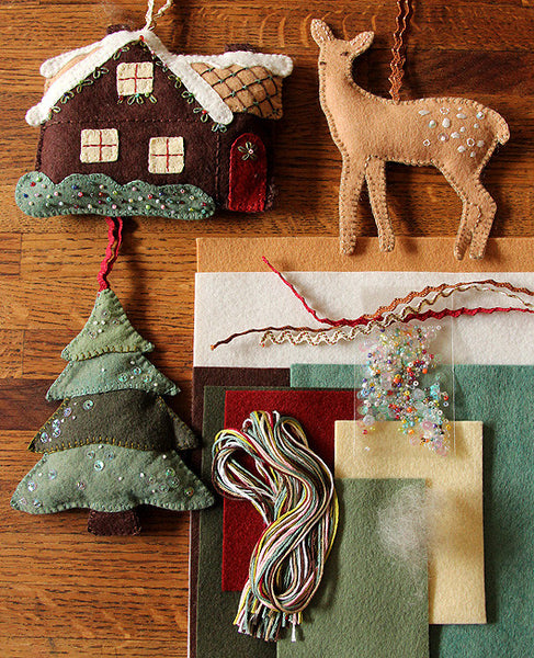 Walk in the Woods Ornament Set Kit