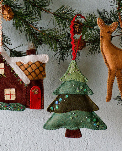 Walk in the Woods Ornament Set Pattern