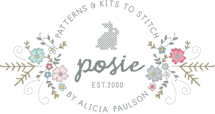 Posie: Patterns and Kits to Stitch by Alicia Paulson