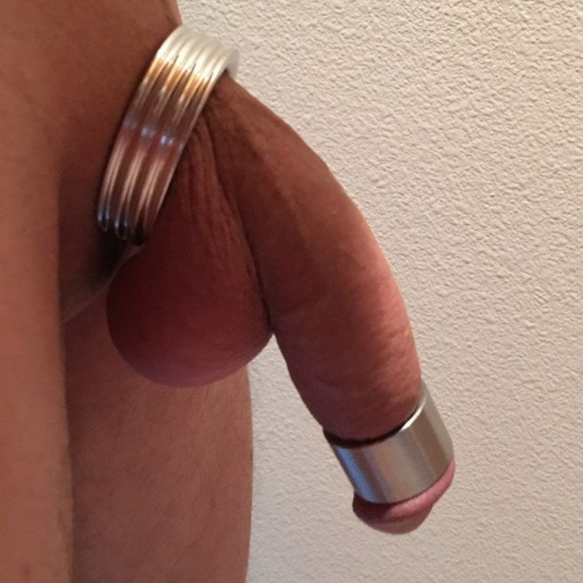 Well Hung in Cockring & Glans Ring: