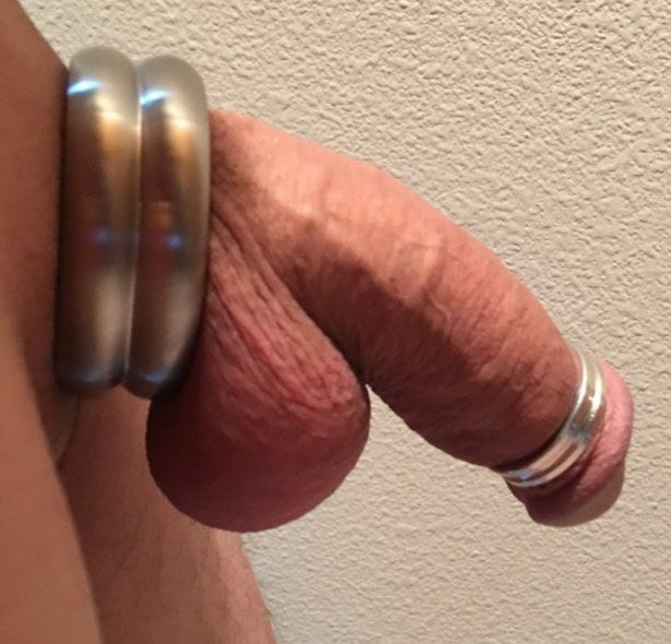 Fury Cockring & Quarter Screw Glans Ring: