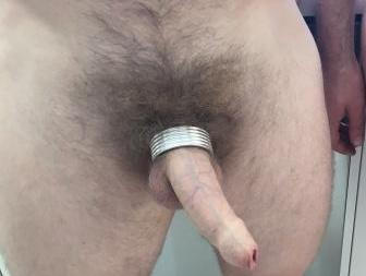 "Full Screw Cockring:  ""It gets my goods on display but is really comfortable for all day wear"""