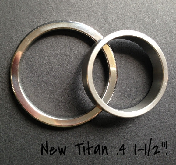 "Titan .4"" Glans / Shaft / Cock Ring"