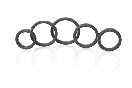 New   5 Cock Ring Set
