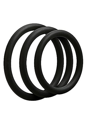 3 C-Ring Set (Thin Silicone)