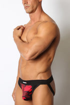 New...  Foxhole Mesh Jockstrap Camo Red