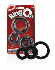 Screaming O x 3 Rings