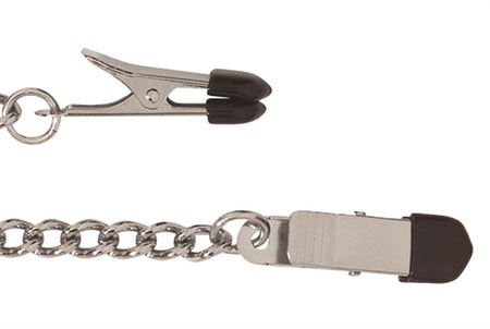 NEW...Broad Tip Nipple Clamp with link Chain