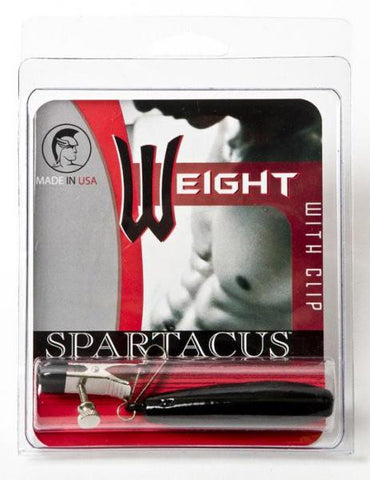 Spartacus Weighted Nipple Clamp