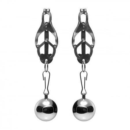 Deviant Monarch Clamps with Nipple Weights