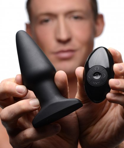 Rimmers Smooth Remote Control Vibrating Plug