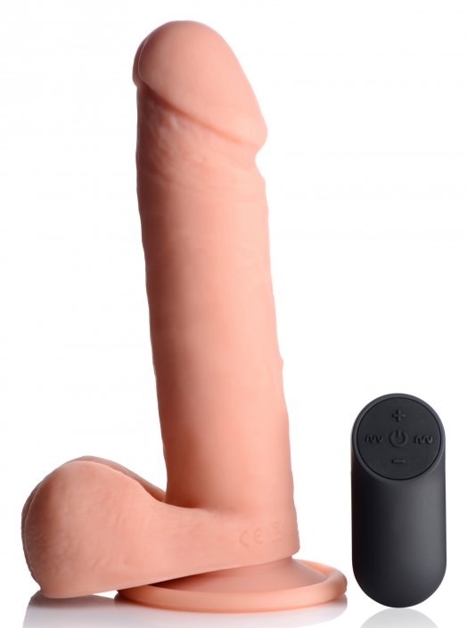 New... Big Shot Vibrating Dildo with Remote             #    3 sizes available