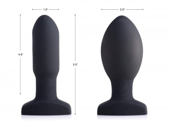 NEW  Remote Control Inflatable & Vibrating Missile Butt Plug