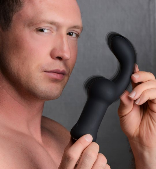 NEW... Pleaser Hook 10x Anal Vibrating Dildo