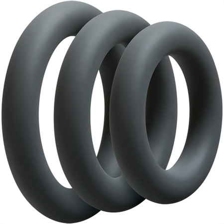 3 C-Ring Set (Thick Silicone)