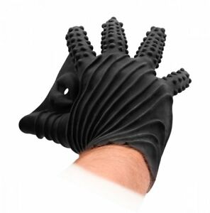 Shots' Fist It Black Textured Glove