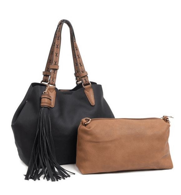 Aliza Tote + Crossbody - Hudson Square Boutique LLC
