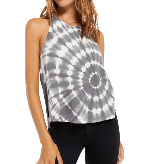 The Astra Spiral Tie-Dye Tank