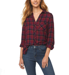 beachlunchlounge Charley Plaid Shirt - Maroon