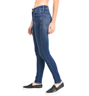JUST BLACK Dark Stretch Skinny Denim