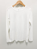 Butter Soft Basic Round Neck Long Sleeve Top - Hudson Square Boutique