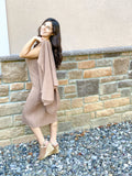 Ribbed Sweater Dress & Cardi SET - Hudson Square Boutique LLC