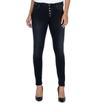 KUT From The Kloth Black Mia High Rise Skinny Button Fly