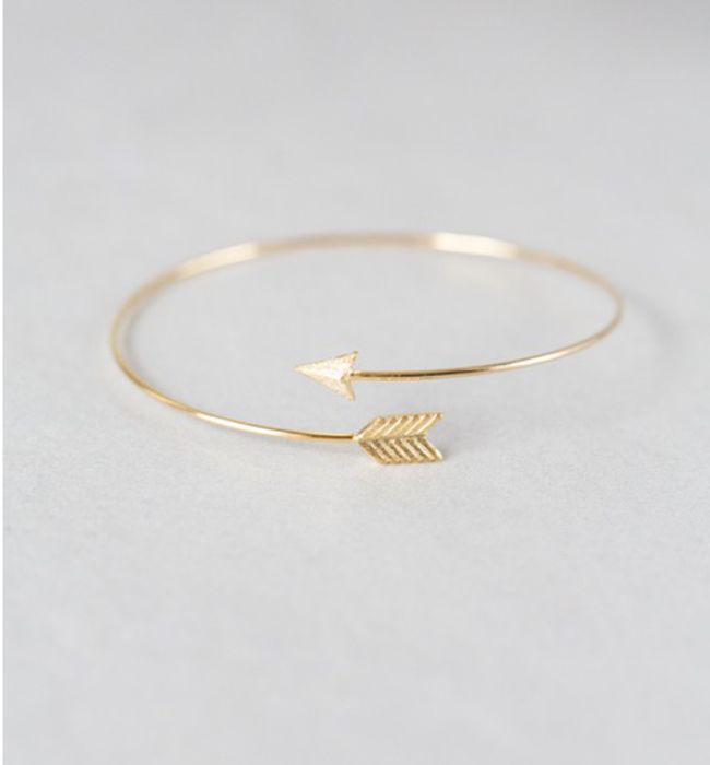 Dainty Arrow Cuff Bracelet
