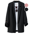 Blazer with Button Sleeve
