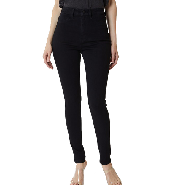 Black High Rise Jegging