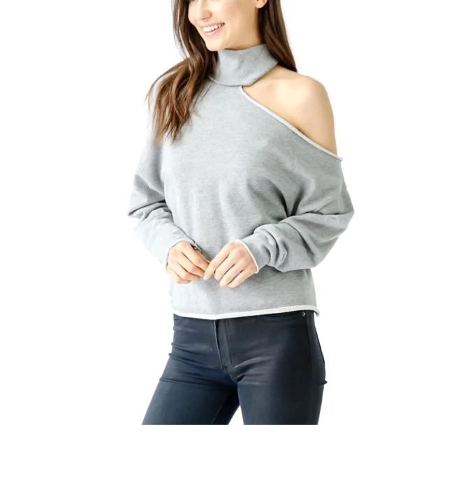 Bleecker Top in Grey