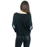 Ultra Soft Bolt Sweater - Hudson Square Boutique