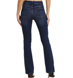 Just Black Dark Classic Bootcut Jeans - Hudson Square Boutique