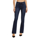 Just Black Dark Classic Bootcut Jeans - Hudson Square Boutique LLC