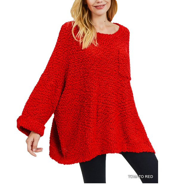 Cozy Pullover Vermont Sweater - Hudson Square Boutique LLC