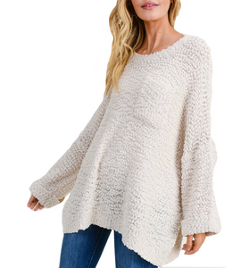 Cozy Pullover Vermont Sweater - Hudson Square Boutique
