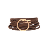 Multi Suede Ring Bracelet - Hudson Square Boutique