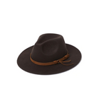Panama Fedora Hat with Strap